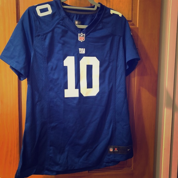 968b5dc1 Women's XL Fitted Eli Manning NY Giants Jersey
